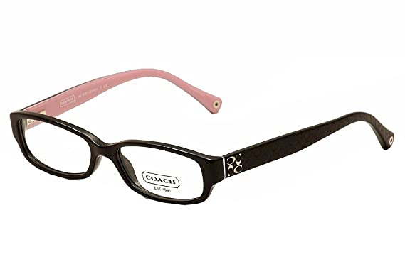 3008f98c71 Amazon.com  Coach Women s HC6001 Eyeglasses Black 50mm  Shoes