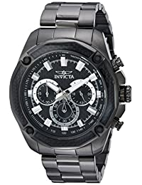 Invicta Men's 22807 Aviator Quartz Chronograph Black Dial Watch