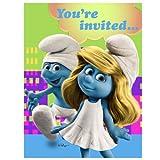 Hallmark Smurfs Invitations