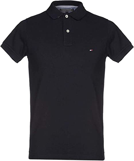 Tommy Hilfiger Boys Essential Hilfiger Slim Fit Polo Shirt