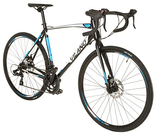 Vilano Shadow 3.0 Road Bike Shimano STI Integrated Shifters Tektro Disc Brakes, 2018