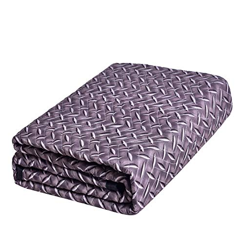 Moving Blanket, Diamond Pattern, Ultra Thick, Washable and Colorfast, Multi-Purpose for Pet Supplies, Sound Barrier, Hunting and Outdoor SOMIDE
