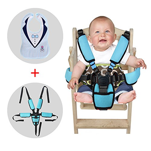 MPAYIXUNGS 2 kit Portable Infant Safety Seat Toddler Safety Seat with Straps Portable Baby Feeding Chair Belt Child Chair Soft Belt Outdoor Portable QE00-8 by MPAYIXUNGS