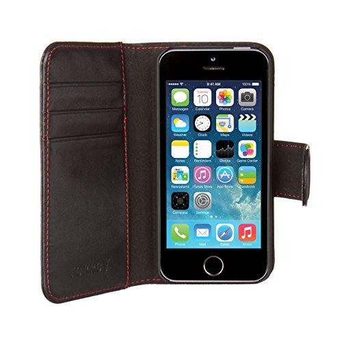 Torro Étui à rabat pour Apple iPhone 5/5S Cuir