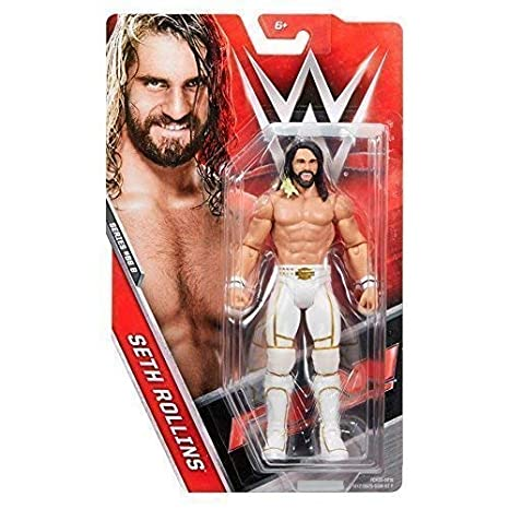Seth 5 Action Serie Wwe 68 Figure Rollins 'bianco Abito Basic 0wOPnk