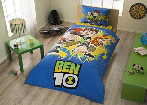 BEN 10 %100 Cotton Boy's Kid's Duvet/Quilt Cover Set Single / Twin Size Kids Bedding