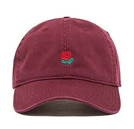 Buy Maroon   VLUNT Plain Baseball Cap Unisex Rose Caps Adjustable Solid  Colors Hats Classic Plain Hip-hop Hat Online at Low Prices in India -  Amazon.in 25fba3d68d2