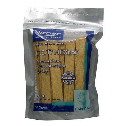 51x1rE98qjL - Virbac C.E.T. HEXtra Premium Oral Hygiene Chews for Dogs