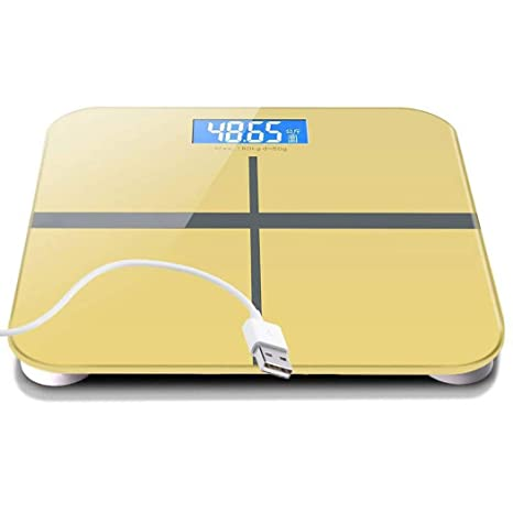 Badaccessoires Scale Electronic Scale Usb Rechargeable Electronic Scale Household Body Weight Scale Mini Adult Weight Scale Accurate Weighing