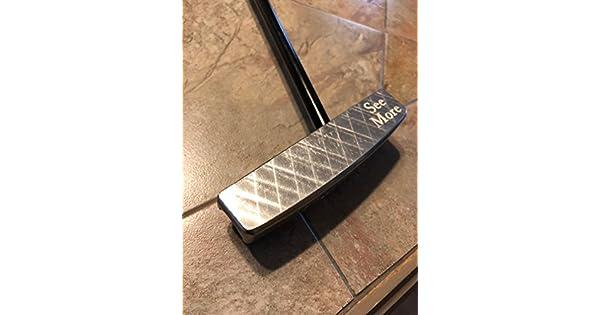 Amazon.com: seemore PTM 1 Blade Putter de golf, platino, 34 ...