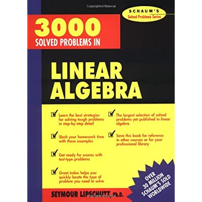 Download 3 000 Solved Problems In Linear Algebra Book Pdf New