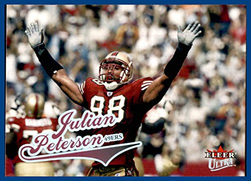 2004 Ultra #22 Julian Peterson SAN FRANCISCO 49ers MICHIGAN STATE -