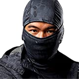 Camouflage Outdoor Hunting Climbing Cycling Motorcycle Hood Head Protector Hat Cap Full Face Mask