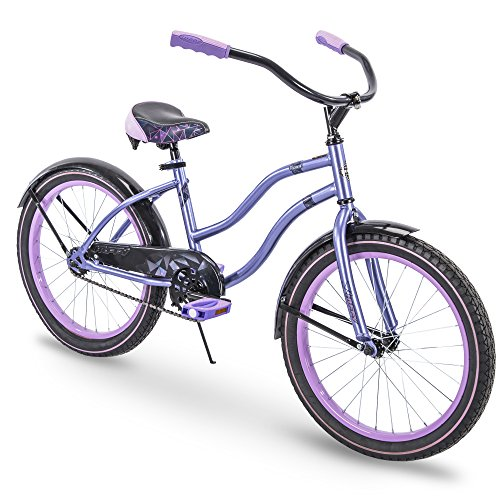 20 inch Girls Cruiser Bike Lavender