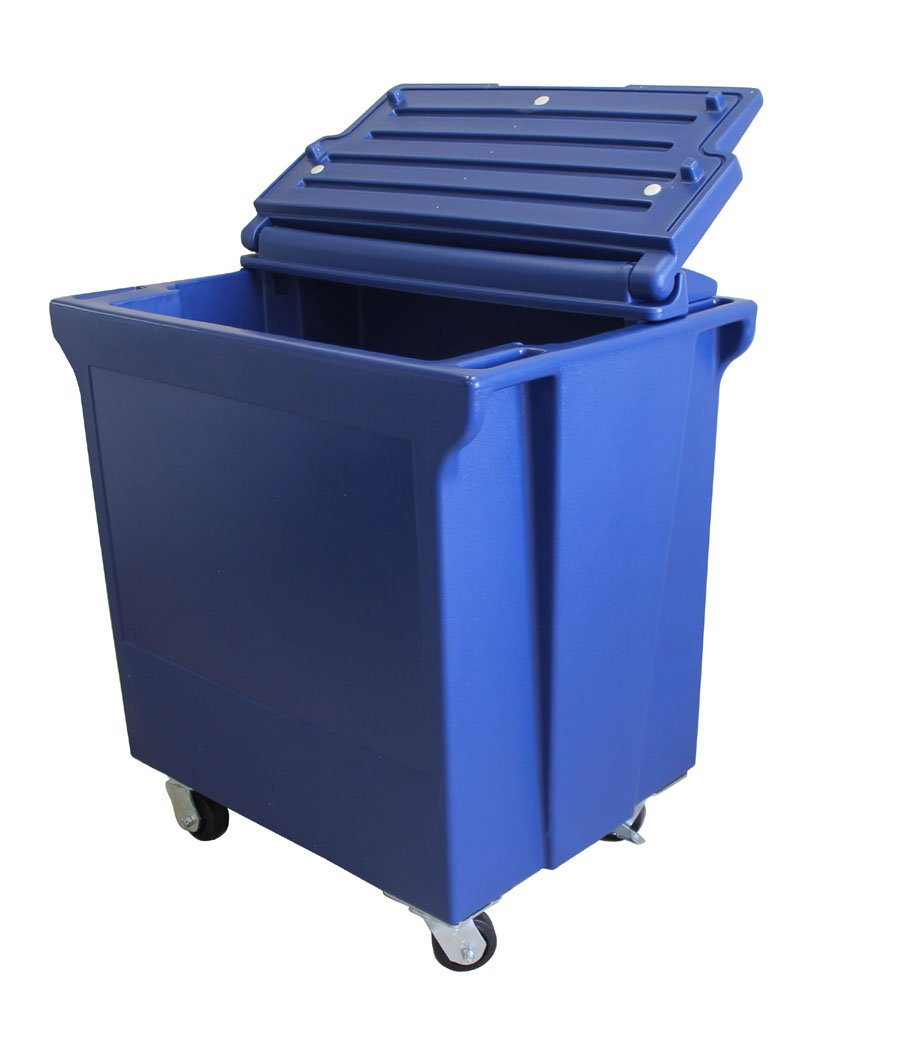 Forte Products 8002491 ColdStor Ice and Beverage Bin, 39'' L, 39'' H, 27'' W, Blue