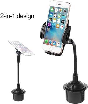 Ranuw Soporte magnético para teléfono móvil, Universal, Ajustable, Cuello de Cisne, Soporte para Taza de Coche para Smartphone de 3,5 a 6,8 Pulgadas: Ranuw: Amazon.es: Electrónica