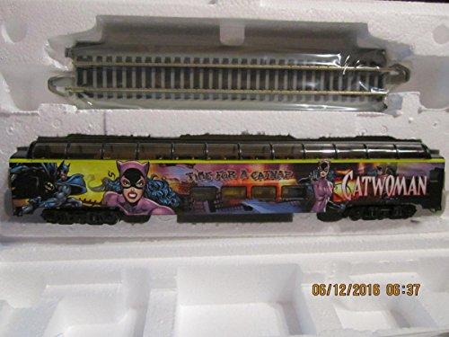 HAWTHORNE VILLAGE BATMAN vs Catwoman PASSENGER TRAIN CAR SEALED SET -  P&R publications