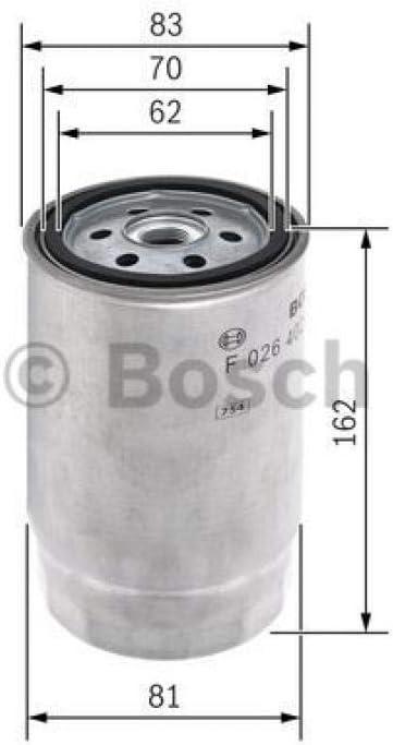 Bosch F 026 402 002 Filtre Carburant