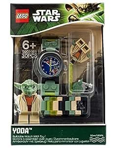 LEGO Star Wars - Reloj con figura de Yoda, multicolor (9002069)