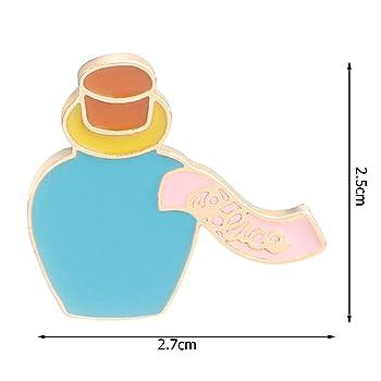 Cartoon Rabbit Bottle Cake Brooch Set Coat Bag Pin Badge Kids Jewelry Gift