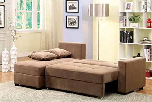 furniture of america laurence sectional sofa sleeper with With furniture of america lawrence sectional sofa sleeper with storage