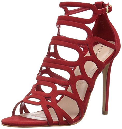 40 Aldo56560744 Donna Nabuck Eu Shorr Rosso rosso qw0H7gPx0O