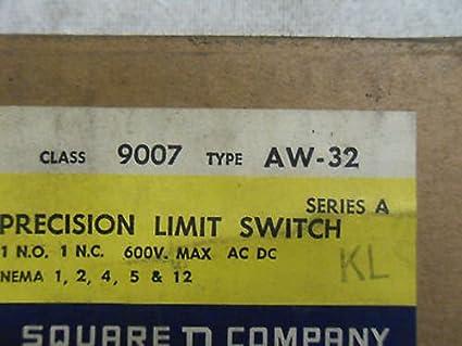 1 New Square D 9007-Aw-32 Precision Limit Switch (X1-2): Amazon com
