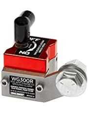 Mag-Mate WG300R On/Off Magnetic Welding Ground, 300 Amp 150 lbs, Red