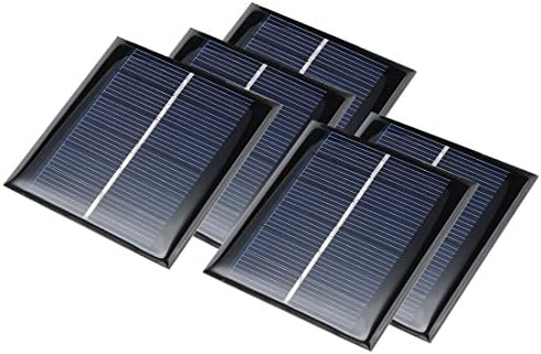 AMX3d 2.0V 130mA 54x54mm Micro Mini Power Solar Cells for Solar Panels – DIY Projects – Toys