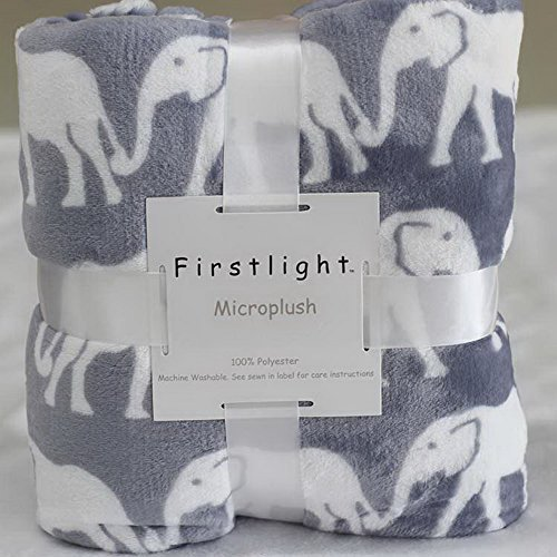 Soft Microplush Elephant Blanket Baby Blanket 127 X 178CM