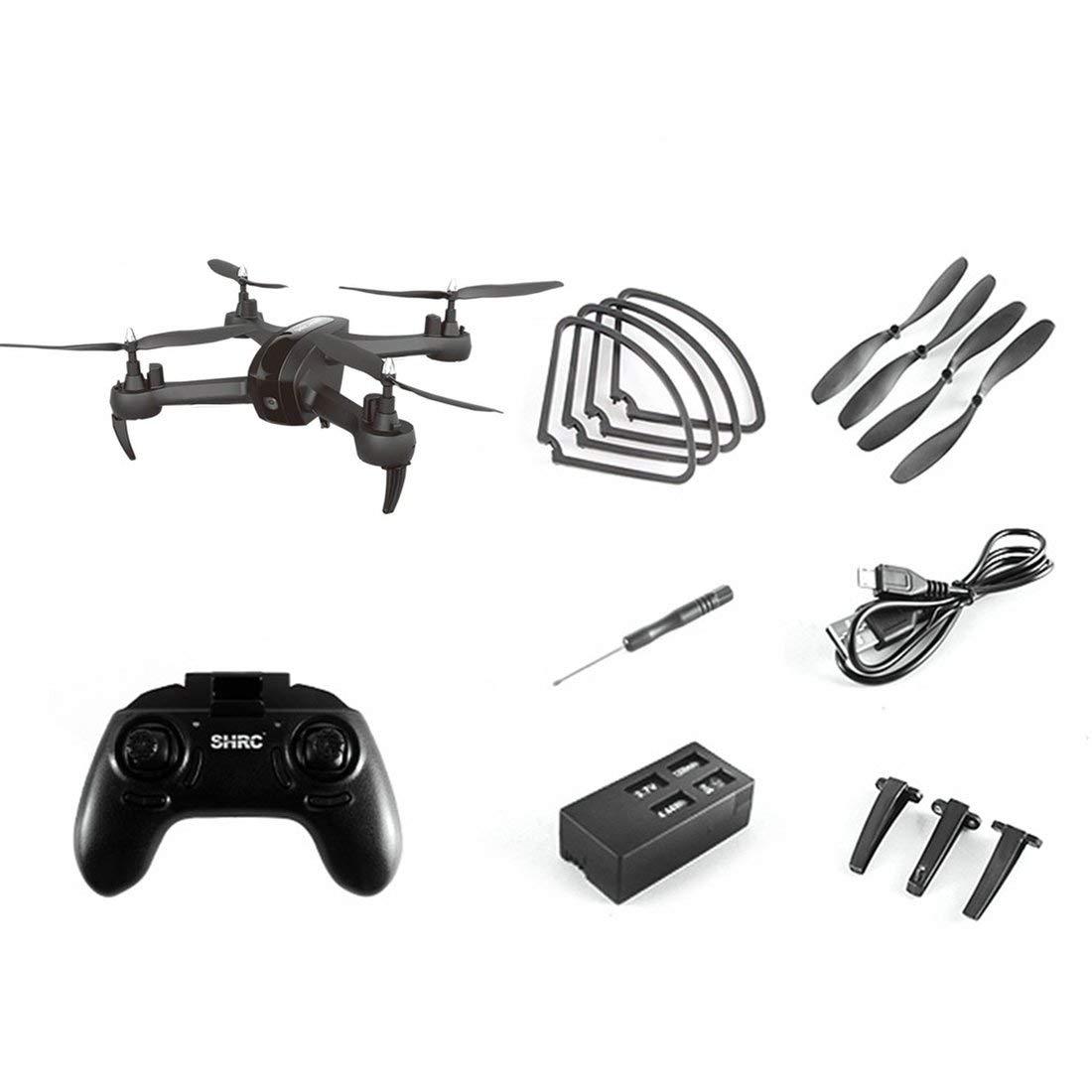 Formulaone SH7 2.4G RC Drohne mit 1080P Kamera Headless Modus Höhe Halten Sie eine Taste Return Mini Fernbedienung Quadrocopter - Schwarz