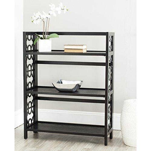 Safavieh American Home Collection Alsager Black 3-Shelf - Bookcase Safavieh