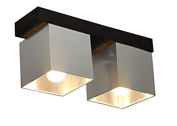 Lámpara de techo color: plata - para LED Bombilla y Vieja ...