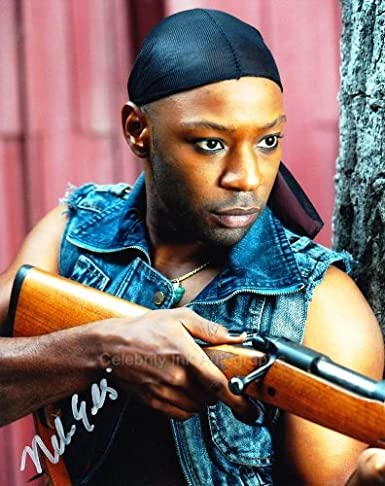 Nelsan Ellis As Lafayette Reynolds True Blood Genuine Autograph At
