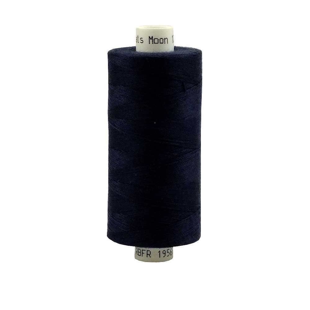 Coats Moon Spun Polyester Sewing Thread 1000 Yards - M004 - Navy Blue