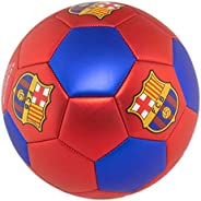 Official FC Barcelona Soccer Ball with Metallic Red, Size 5
