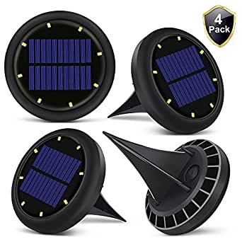 LED Ground Spot Solar Lights