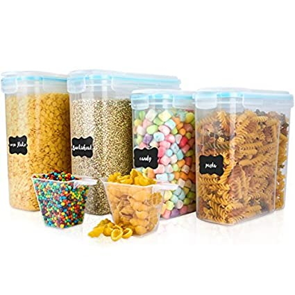 Amazoncom Cereal Container VERONES Airtight Storage Containers