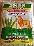 Sher 100% Whole Bajri (Millet) Flour 2lb