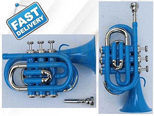 nickle plated trumpet - 2