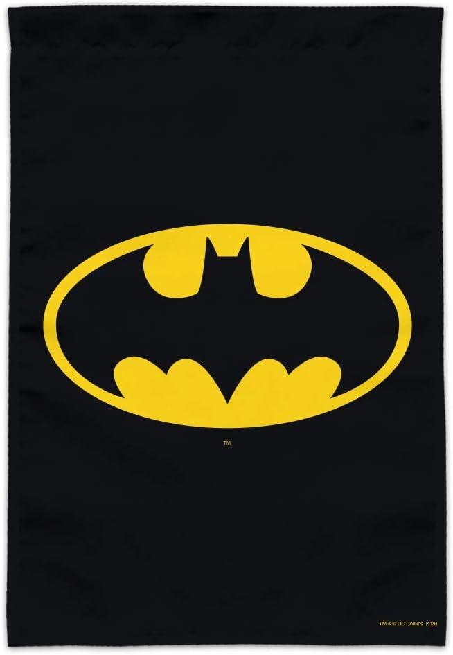 GRAPHICS & MORE Batman Classic Bat Shield Logo Garden Yard Flag