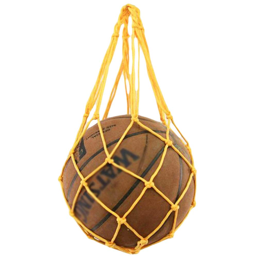 George Jimmy Training Volleyball Football Storage Yellow Basketball Net Mesh Bag by George Jimmy (Image #1)