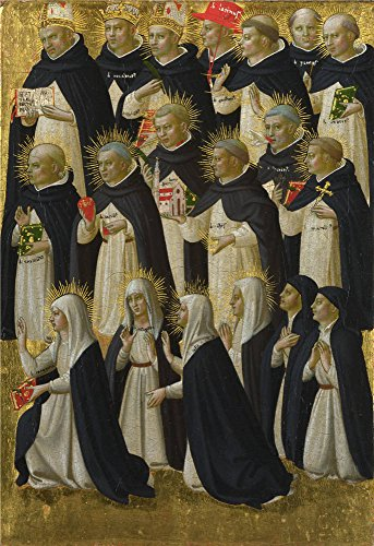 ['Fra Angelico The Dominican Blessed (1) ' Oil Painting, 18 X 26 Inch / 46 X 67 Cm ,printed On High Quality Polyster Canvas ,this High Quality Art Decorative Prints On Canvas Is Perfectly Suitalbe For Basement Decor And Home Artwork And] (Goth Ann Teen Costumes)
