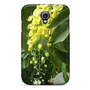 Galaxy S4 Case Cover Skin : Premium High Quality Yellow Bunch Of Flowers Case