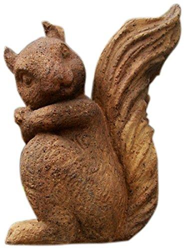 OrlandiStatuary FS8732 Forest Squirrel Garden Statue, Autumn Rose
