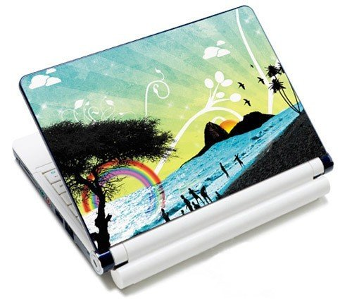 Amazon.com: MySleeveDesign Notebook Skin Protective Decal Laptop Sticker Cover 10.2