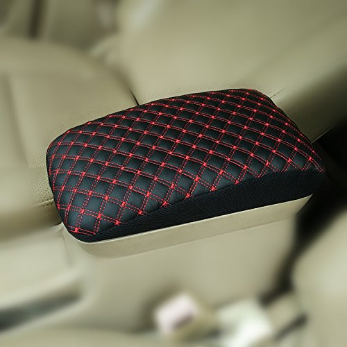 TOYOTA FJ CRUISER Leather Car Auto Center Armrest Console Lid Cover Protector