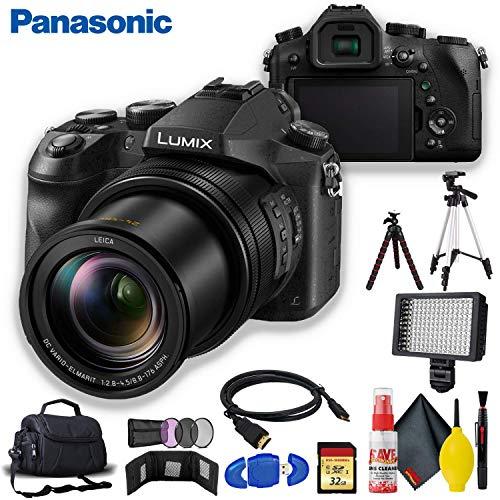 Panasonic Lumix DMC-FZ2500 Digital Camera with Tripod Kit9