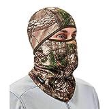 Ergodyne N-Ferno 6823 Balaclava Ski Mask, Wind-Resistant Camo Face Mask, Hinged Design