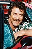 Tom Selleck Magnum, P.I. In Ferrari 308 24x36 Poster